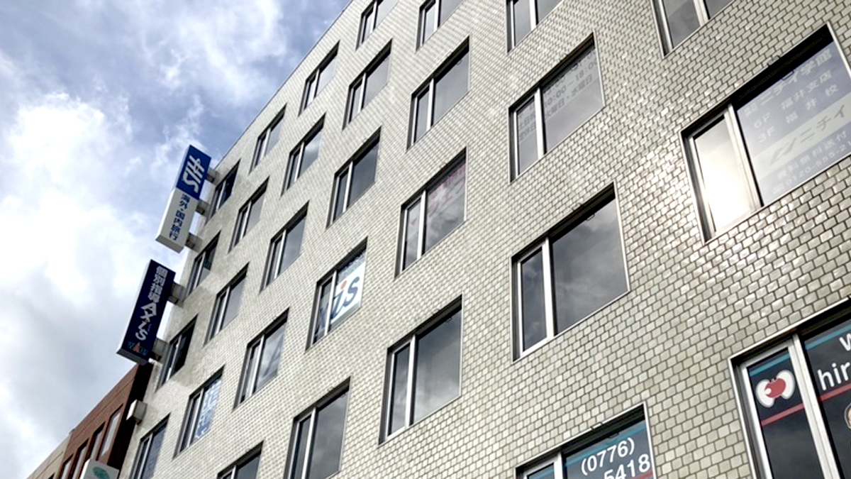 校舎の写真